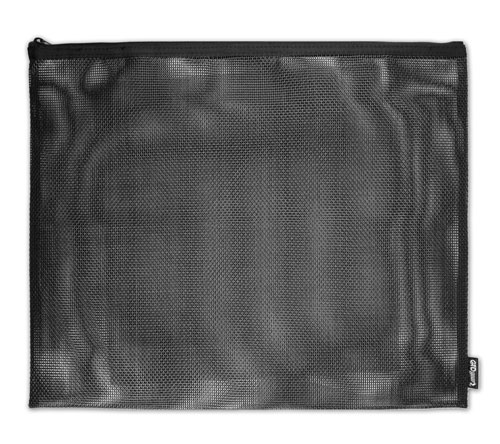 GTD® ZIP POUCH - LARGE - BLACK