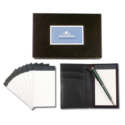 GTD® NOTETAKER - COMPACT LEATHER