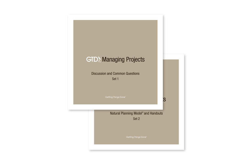 GTD® MANAGING PROJECTS - MP3