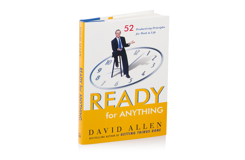 READY FOR ANYTHING - HARDCOVER
