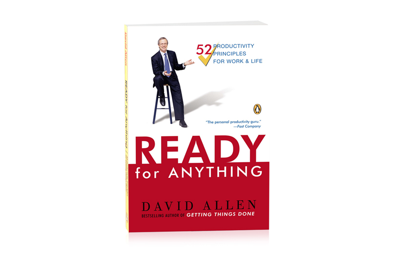 READY FOR ANYTHING - PAPERBACK