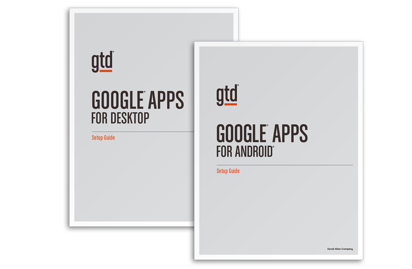 GOOGLE APPS BUNDLE - A4 SIZE