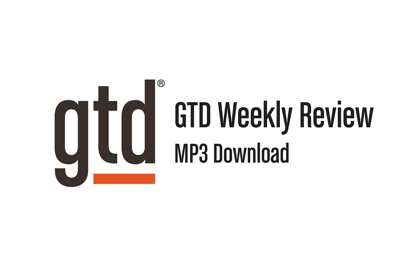 GTD WEEKLY REVIEW® - MP3
