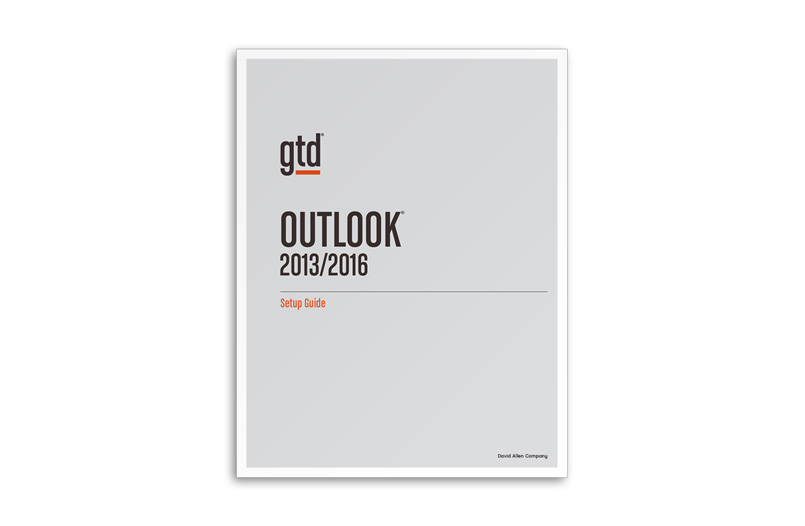 OUTLOOK® 2013/2016 - A4 SIZE