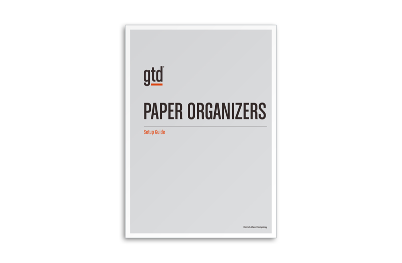 PAPER ORGANIZERS - A4 SIZE