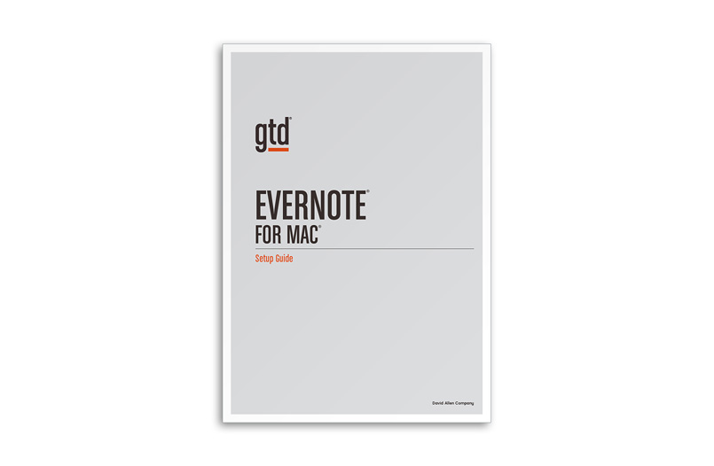EVERNOTE® FOR MAC - A4 SIZE